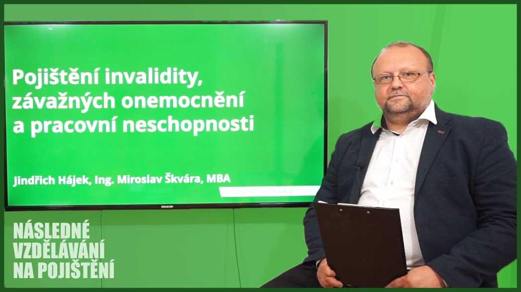 Pojištění invalidity, závažných onemocnění a pracovní neschopnosti