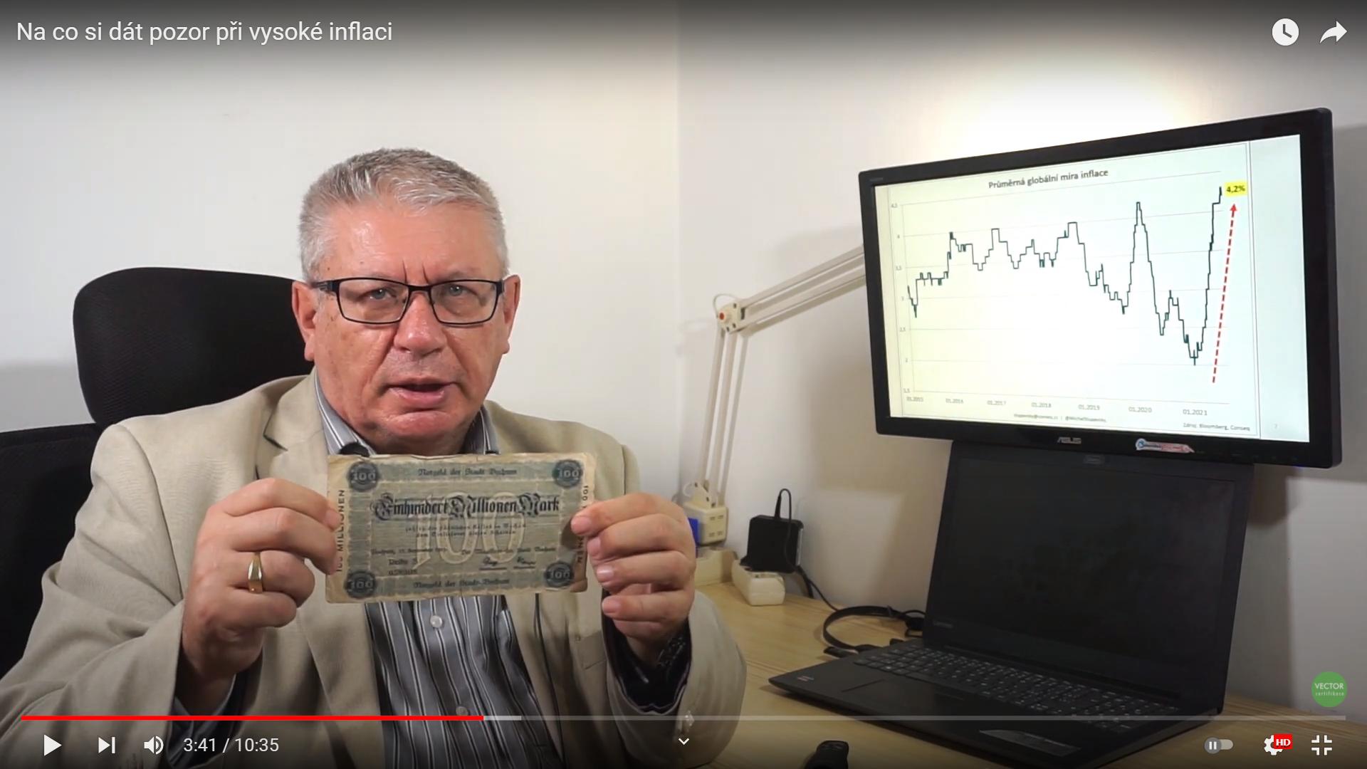 Na co si dát pozor při vysoké inflaci, rizika