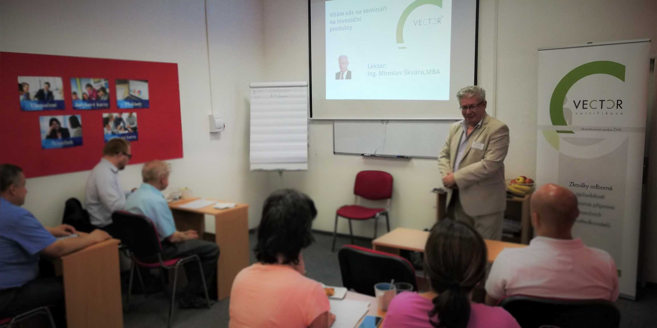 Přípravný seminář na Certifikaci – pojištění