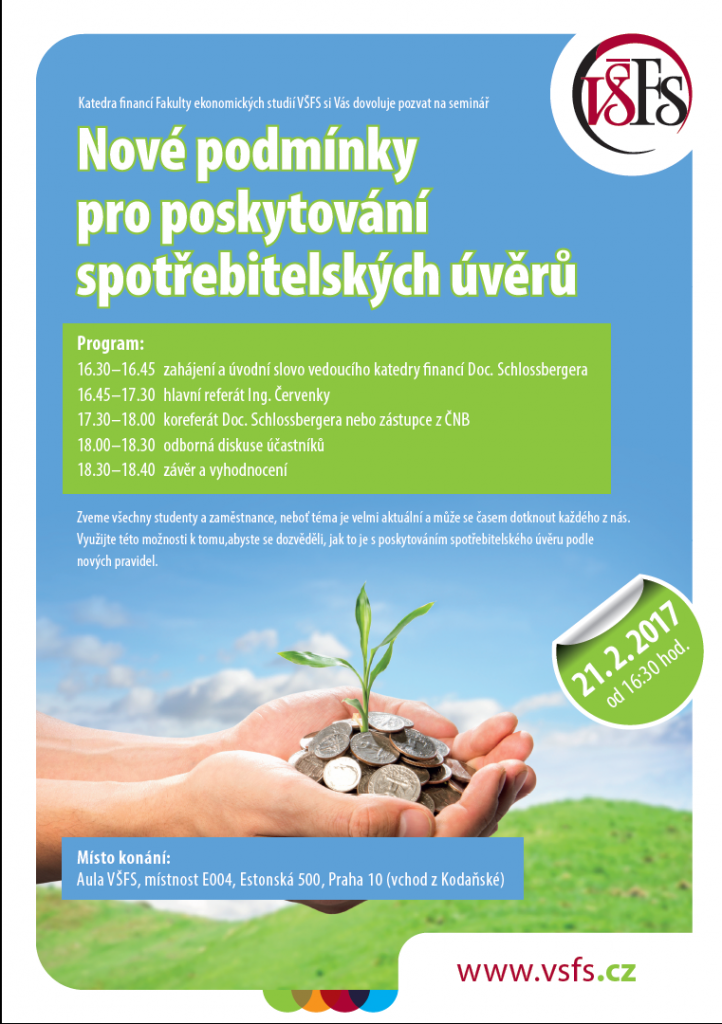 seminář VŠFS - spotřebitelské úvěry
