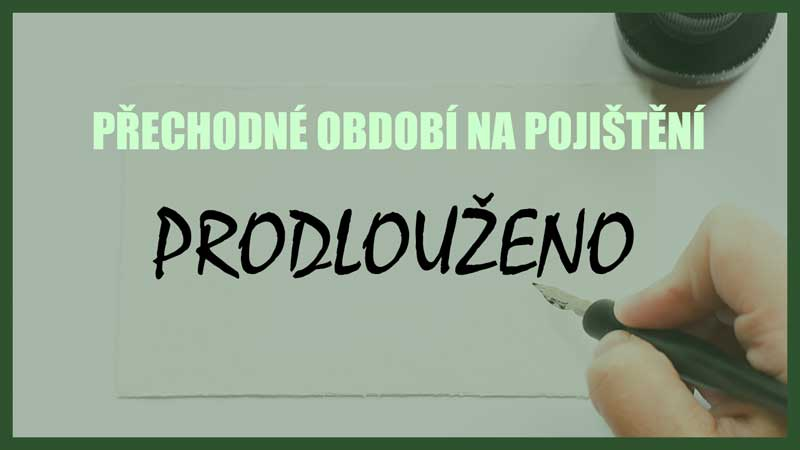 Prezident ČR dnes podepsal prodloužení přechodného období na pojištění